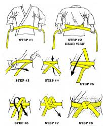 How to Tie Belt
